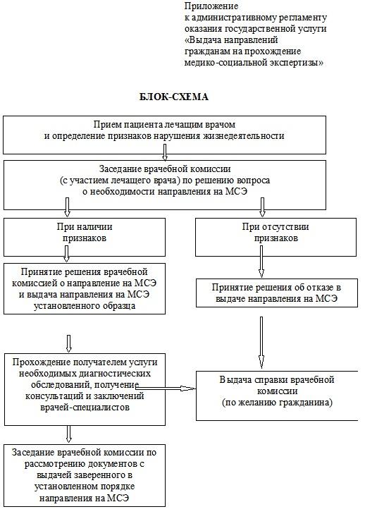 Протокол проведения медико социальной экспертизы гражданина